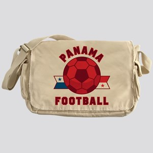 Panama Football Messenger Bag